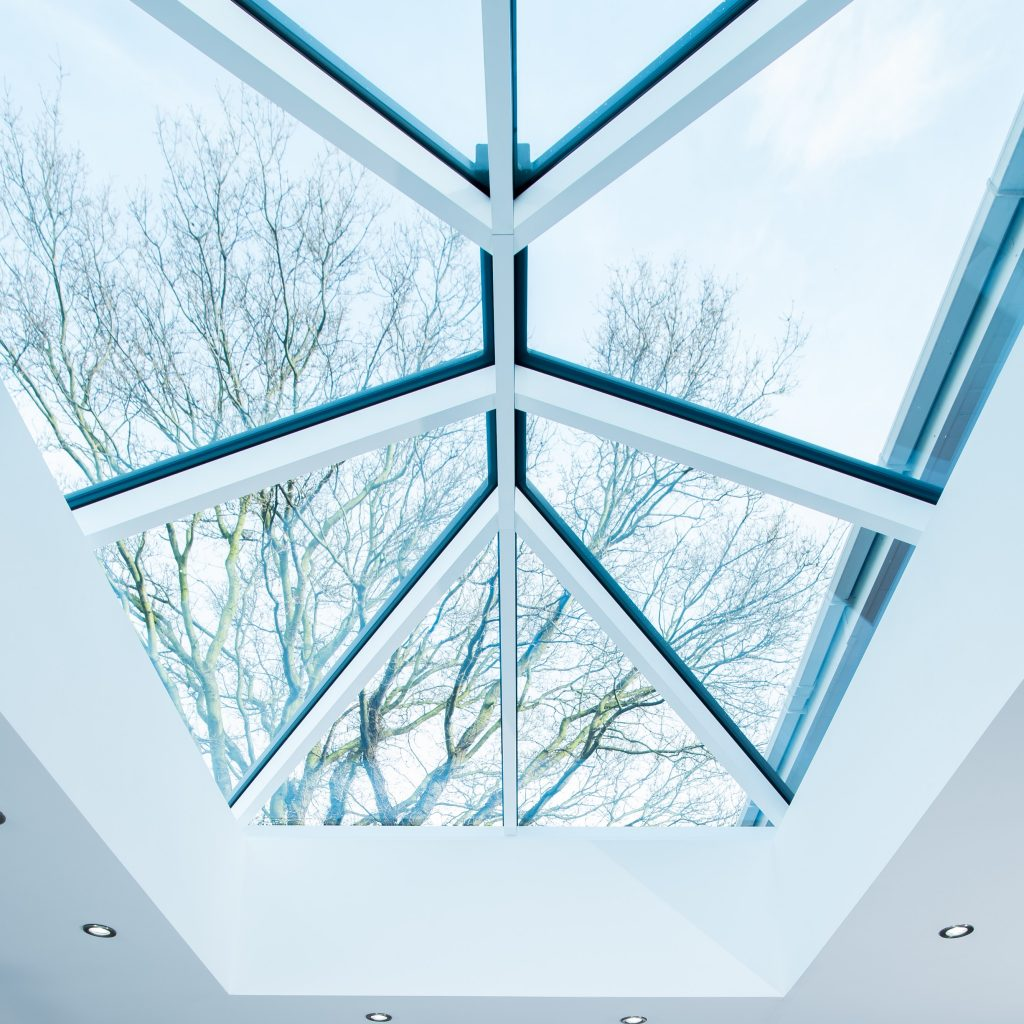 Traditional interior roof lantern