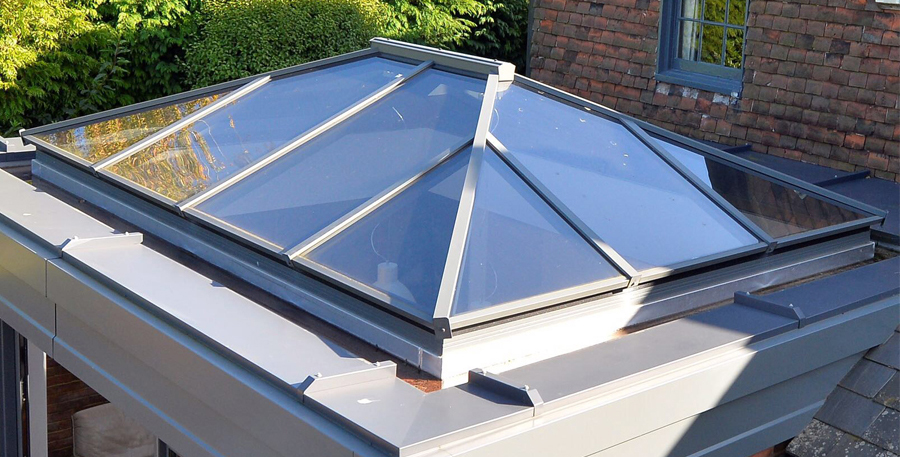 Traditional Roof Lantern Home